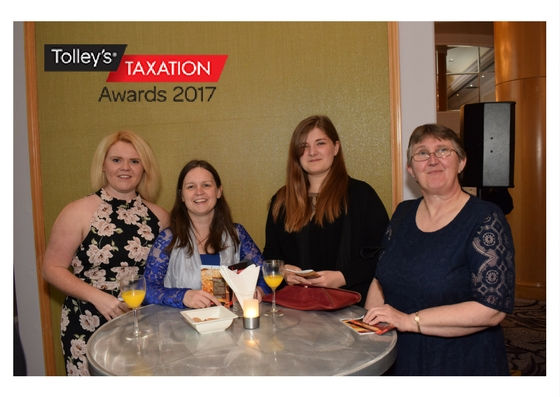 Churchill team at Tolley's Taxation Awards 2017